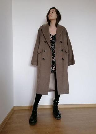 Пальто шерстяное6 фото