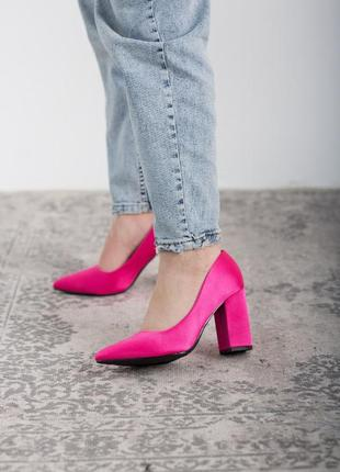 Женские туфли розовые kaaisa 2601