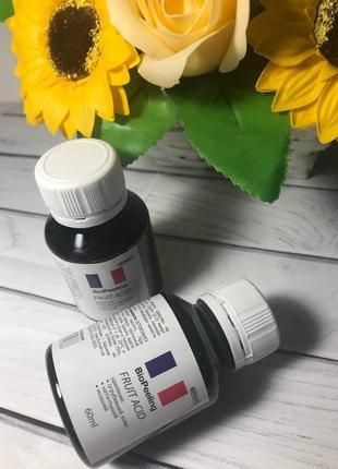 Био гель для педикюра, маникюра на основе фруктовых кислот biogel 60 мл