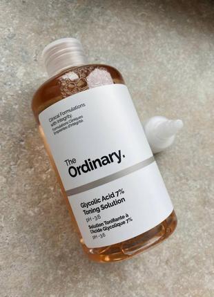 The ordinary - glycolic acid 7% toning solution  тоник с 7% гликолевой кислотой
