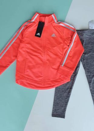 Комплект для девочки от adidas оригинал сша 104-110; 110-116