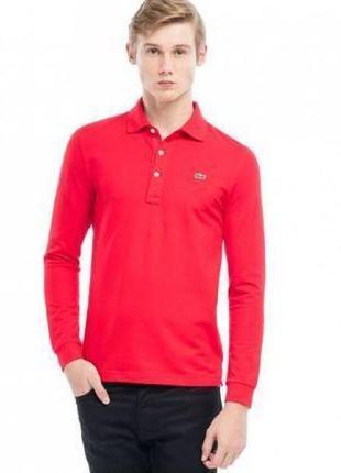 Фирменная футболка длинный рукав поло 👕 sergio tacchini оригинал!