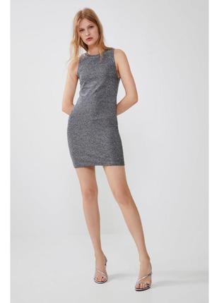 Плаття, сукня з металізованим ефектом, блискуча сукня, сукня на новий рік.