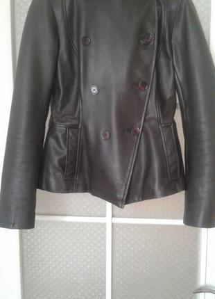 Жіноча шкіряна куртка reiss