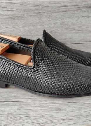Jaime mascaro 44-44.5p туфли мужские кожаные лоферы италия