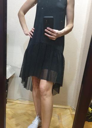 Платье - сетка primark, h&m, mango, pull and bear, zara