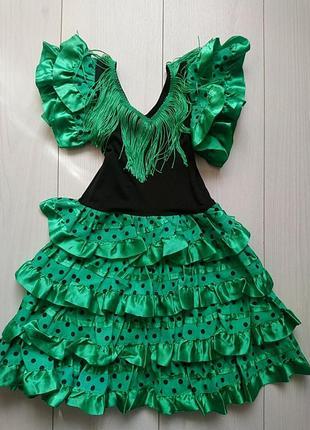 Плаття для танців кармен фламенко