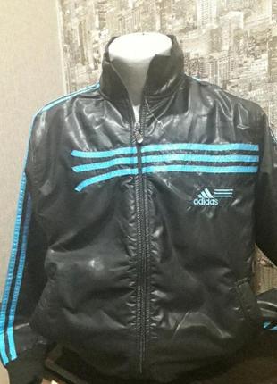 Фирменная спортивная курточка/ мастерка л от любимого бренда