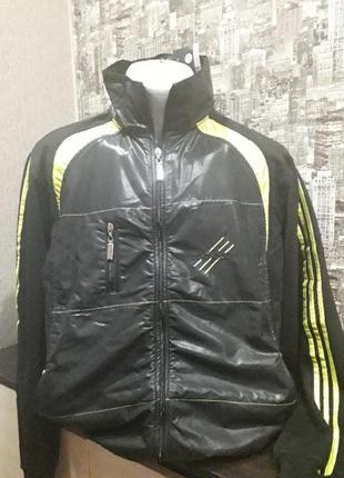 Бомбезная спортивная курточка ,мастерка любимого бренда