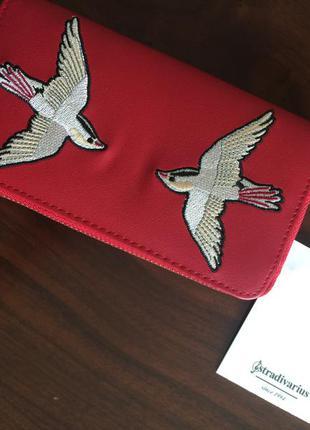 Крутий гаманець з вишивкою