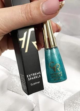Подводка golden rose extreme sparkle eyeliner №104