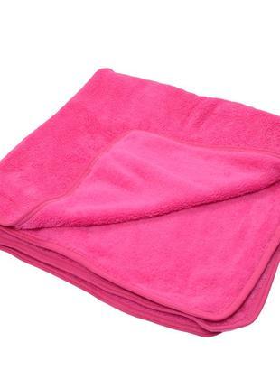 Ковдра велсофт рожева, салатова, синя. розмір 100*90 см.