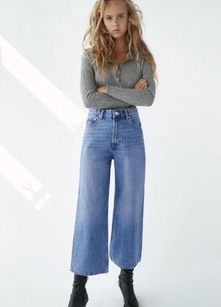 Cropped-jeans  zara р 36
