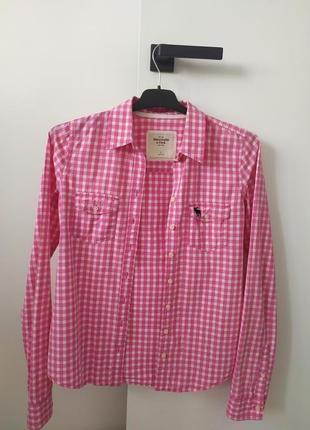 Женская рубашка abercrombie&fitch