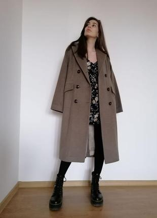 Пальто шерстяное1 фото