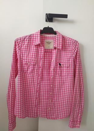 Женская рубашка abercrombie & fitch