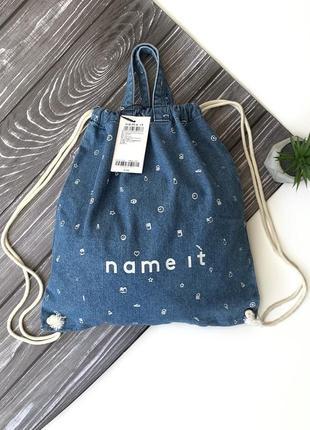 Джинсовая сумка - рюкзак