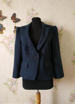 Стильный женский укороченный жакет пиджак блейзер atmosphere