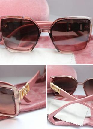 Новые очки в розовом цвете