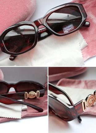 Новые очки в коричневой цвете