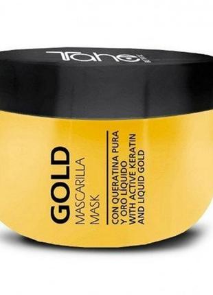 Маска для волос tahe gold