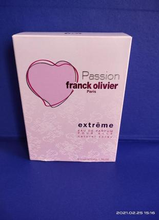 Духи franck olivier passion extreme