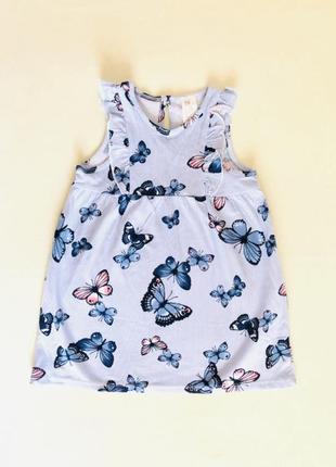 Новое!красивое, стильное платье, сарафан для девочки. h&m 9-12 мес.