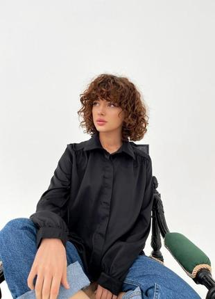 Шелковая рубашка ♡