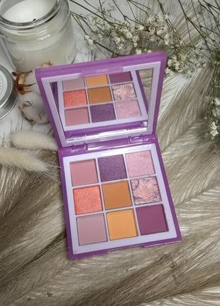 Тени для век huda beauty pastels lilac obsessions