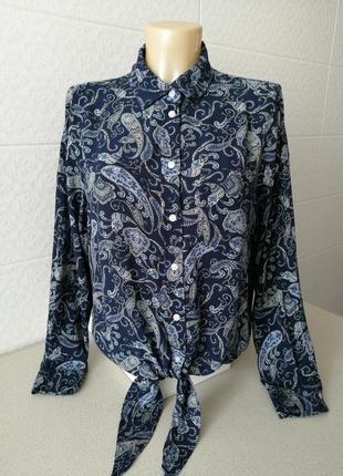 Стильна укорочена сорочка