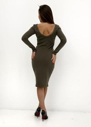Платье с цепочкой 💥
