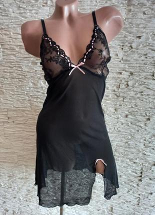 Очень красивый пеньюар ночная рубашка