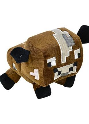 Мягкая игрушка майнкрафт корова
