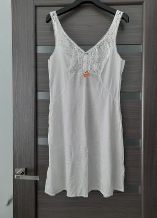 Рубашка нижняя пеньюар  комбинация размер м..l
