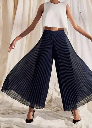 Юбка-брюки плиссе