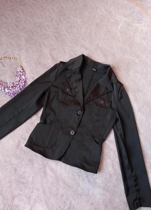 Пиджак f&k из плотного атласа