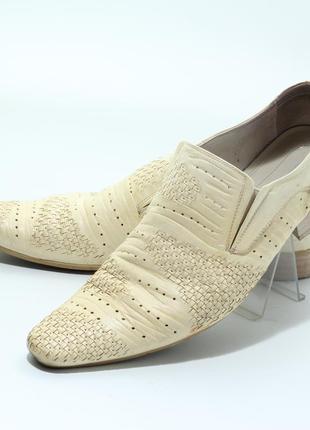 Туфли светлые белые бежевые 44р. broman
