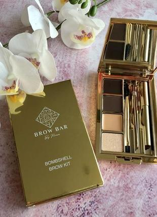 Набор для бровей brow bar by reema - bombshell brow kit - medium