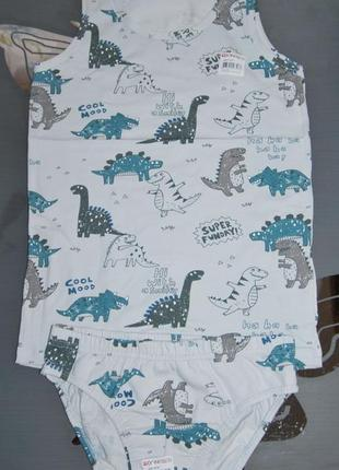 Комплект 2-3 года донелла donella динозавры