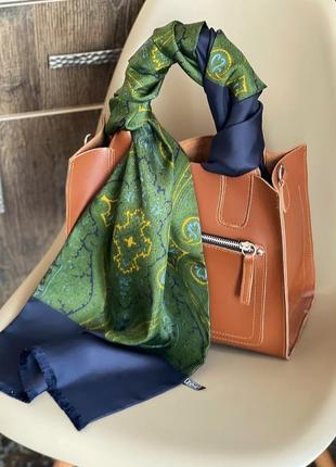 Шелковый шарф, платок lanvin оригинал