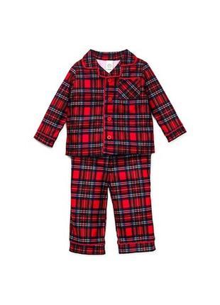 Little me пижама шотландка оригинал америка