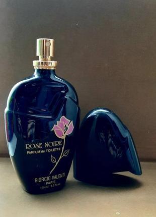 Духи винтаж rose noire giorgio valenti 80/100 ml edt