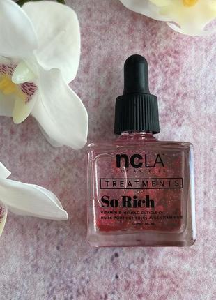 Ароматизированное масло для кутикулы ncla so rich cuticle oil13.3m