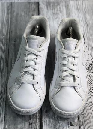 Кожаные кроссовки nike court majestic