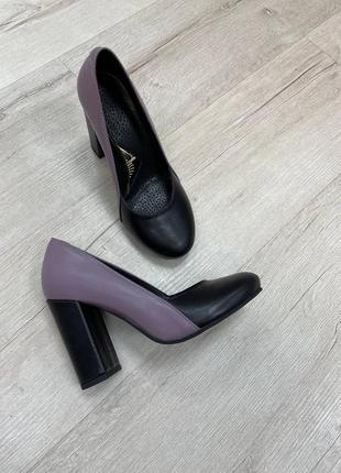 Туфли женские натуральная кожа замша италия 🇮🇹