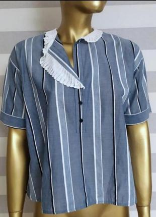 Шикарная блуза рубашка дорого бренда sandro paris