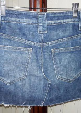 Летняя распродажа коротенькая джинсовая юбочка мини