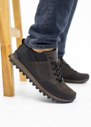 Мужские кроссовки (натуральная кожа)