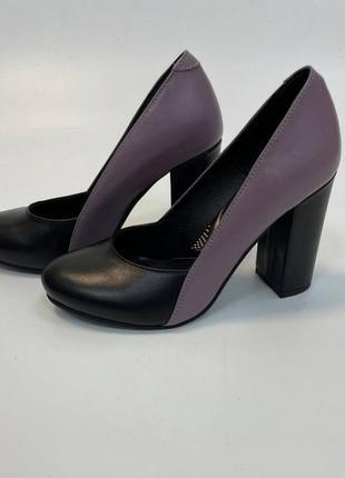 Туфли натуральная итальянская кожа и замша