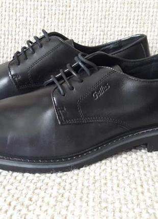 Розпродаж !!! туфлі чоловічі шкіряні чорні gallus розмір 44